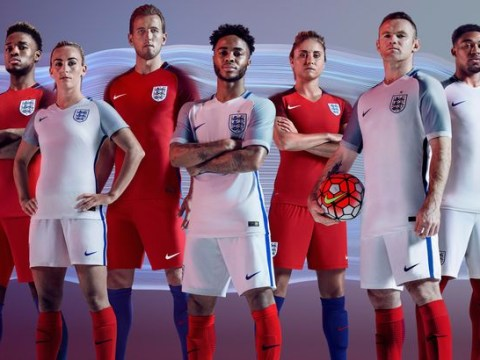 New England kit: Euro 2016 strip unveiled with red socks