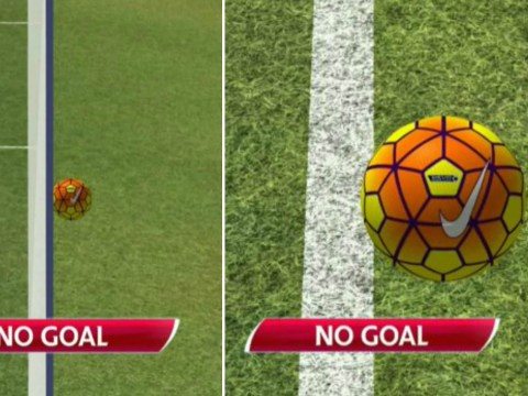 David Ospina save leads to closest goal-line technology decision ever during Tottenham v Arsenal