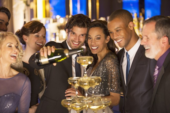 Rich people: drunks Getty