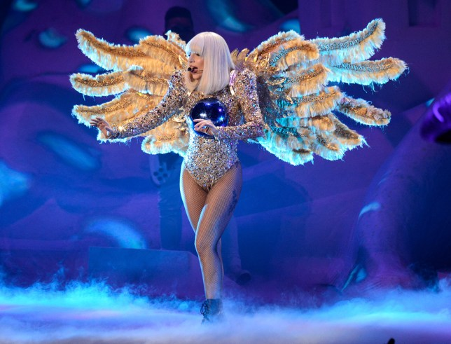 """NEW YORK, NY - MAY 13: (Exclusive Coverage) Lady Gaga performs during her """"artRave: The Artpop Ball"""" tour at Madison Square Garden on May 13, 2014 in New York City. (Photo by Kevin Mazur/WireImage)"""