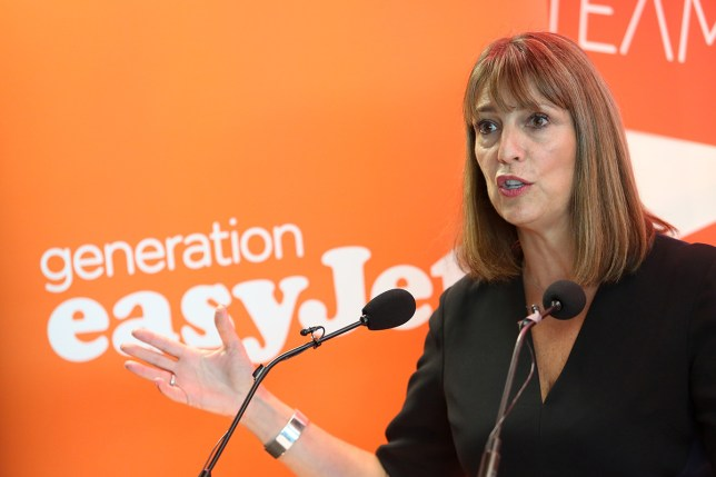 Carolyn McCall, chief executive officer of EasyJet (Picture: Getty Images)