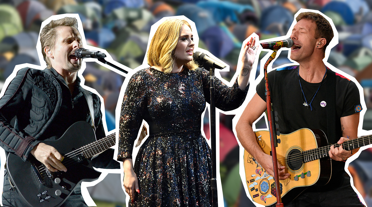 Glastonbury 2016 FULL line-up announced: Adele, Muse and Coldplay take headline slots