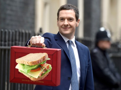 It wouldn't be a Budget without people fiddling with the Chancellor's red box