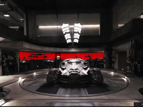 Batman invites you to explore his Batcave with Google Street View