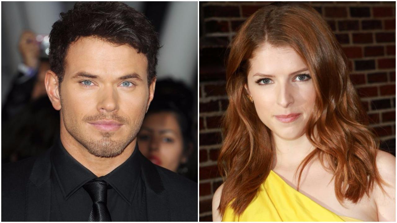 Twilight stars Anna Kendrick and Kellan Lutz flirt up a storm with sexy kitchen bants on Twitter