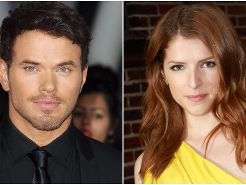 Twilight stars Anna Kendrick and Kellan Lutz flirt up a storm with sexy kitchen bants on Twitter
