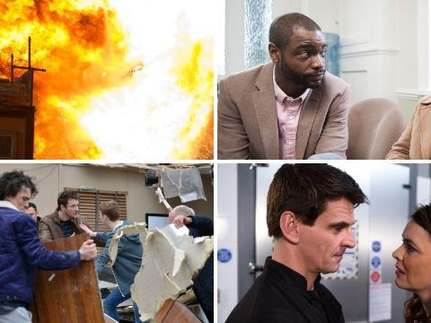 12 soap spoiler pictures: EastEnders and Hollyoaks killer stunts, Emmerdale cancer terror