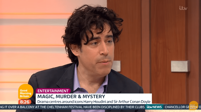Stephen Mangan says there is too much 'hysteria' over the Matt LeBlanc Top Gear scandal (Picture: ITV)