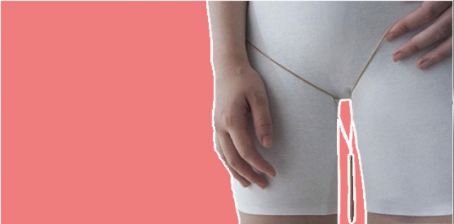 Yep, someone's making jewellery for thigh gaps (but not really)