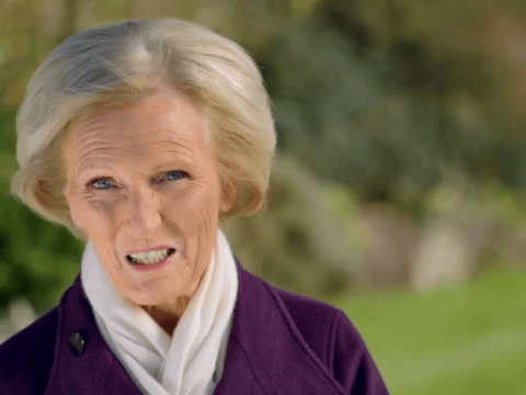 Mary Berry reduces viewers to tears as she makes emotional visit to son's grave