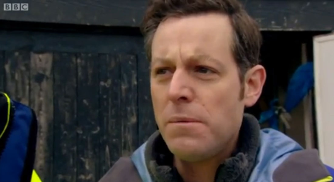 Countryfile viewers left chuckling over Matt Baker's reaction to eating oysters