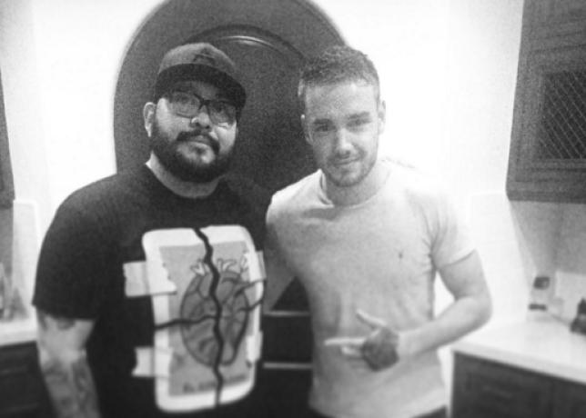 Liam Payne has been inked by Nikko (Picture: Nikko Hurtado Instagram)