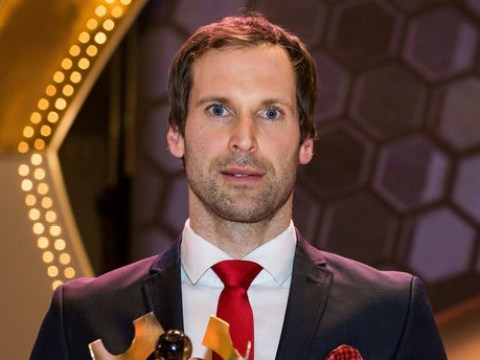 Arsenal's Petr Cech voted Czech Republic Player of the Year for a record eighth time