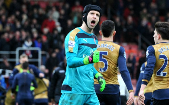 BOURNEMOUTH, ENGLAND - FEBRUARY 7: of Arsenal during the Barclays Premier League match between AFC Bournemouth and Arsenal at The Vitality Stadium on February 7, 2016 in Bournemouth, England. (Photo by Stuart MacFarlane/Arsenal FC via Getty Images