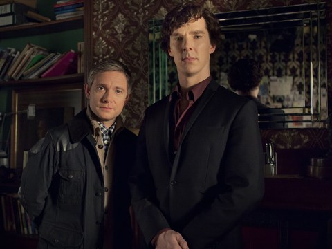 Mark Gatiss teases Sherlock series 4 with mysterious skull snap
