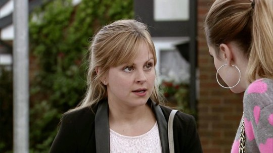 FROM ITV STRICT EMBARGO - No Use Before Tuesday 29 September 2015 Coronation Street - Ep 8748 Wednesday 7 October 2015 Clearly in a state, Sarah Platt [ TINA O'BRIEN] tells Kylie Platt [PAULA LANE] how they've found Callum's body in the canal and it's only a matter of time before they're arrested. Kylie does her best to calm her down but at breaking point, Sarah announces she's going to the police to tell them about Callum's death. Horrified, Kylie tries to stop her. Picture contact: david.crook@itv.com on 0161 952 6214 This photograph is (C) ITV Plc and can only be reproduced for editorial purposes directly in connection with the programme or event mentioned above, or ITV plc. Once made available by ITV plc Picture Desk, this photograph can be reproduced once only up until the transmission [TX] date and no reproduction fee will be charged. Any subsequent usage may incur a fee. This photograph must not be manipulated [excluding basic cropping] in a manner which alters the visual appearance of the person photographed deemed detrimental or inappropriate by ITV plc Picture Desk. This photograph must not be syndicated to any other company, publication or website, or permanently archived, without the express written permission of ITV Plc Picture Desk. Full Terms and conditions are available on the website www.itvpictures.com