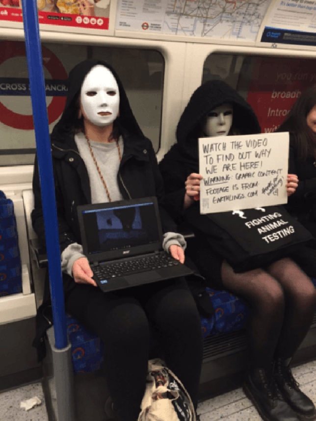 Fashion Week Protest