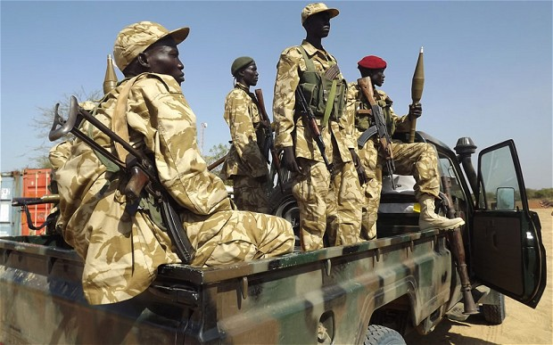 Soldiers in South Sudan are 'allowed to rape women as payment'