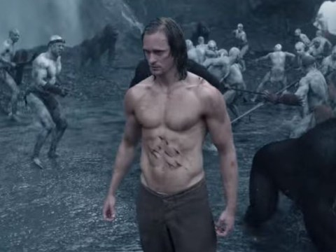 Here's the first full length trailer for The Legend Of Tarzan