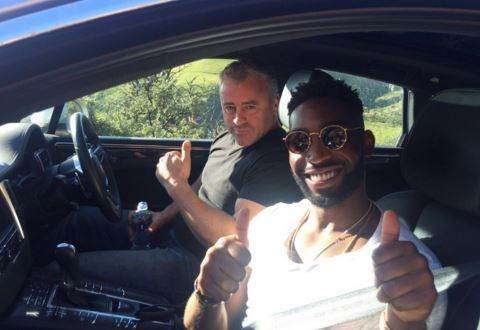 Rapper Tinie Tempah joins Matt LeBlanc in South Africa for Top Gear challenge