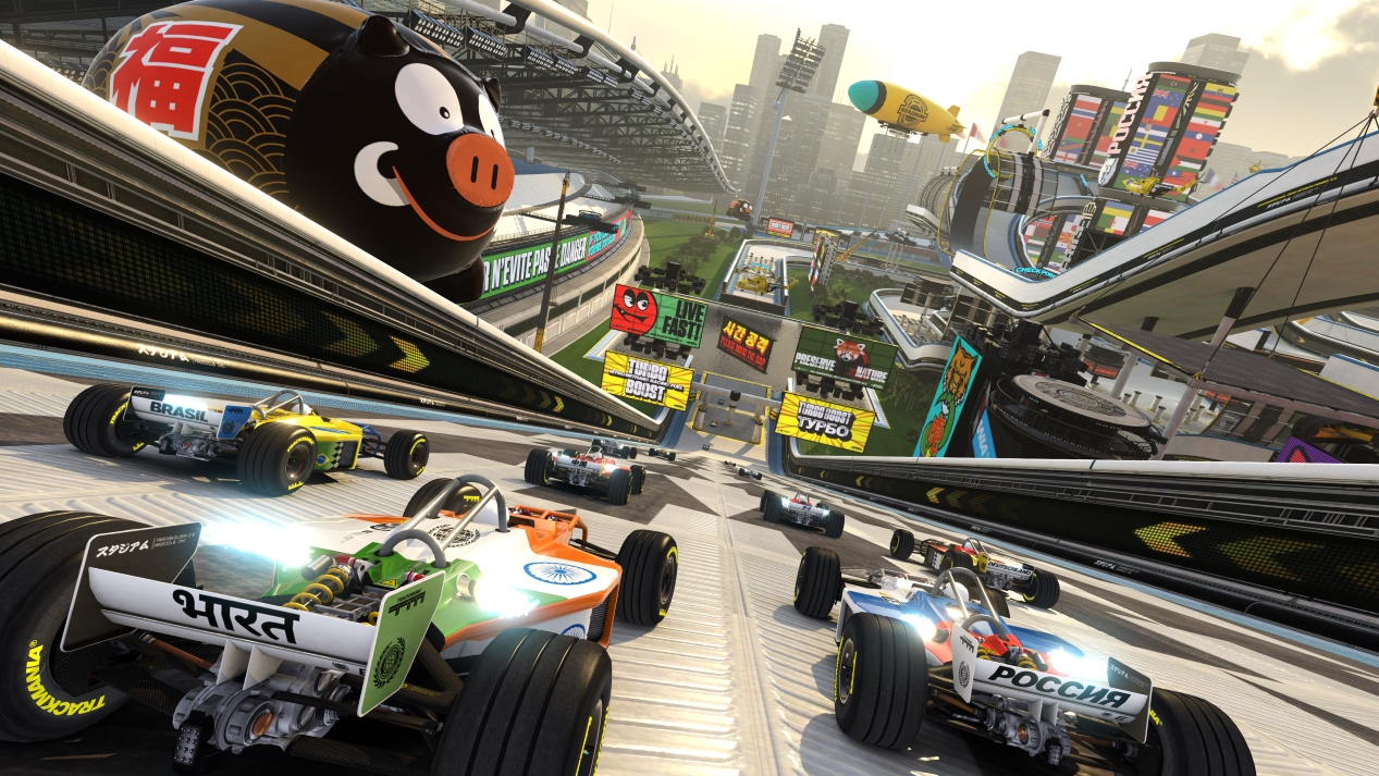 TrackMania Turbo (PS4) - not your average racer