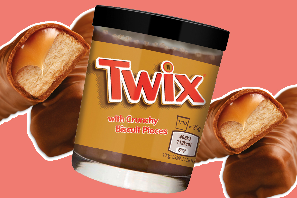 Mars releases spreadable Twix