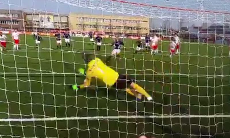 Manchester United legend Edwin van der Sar saves penalty in comeback game for boyhood club