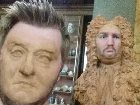 Turns out Face Swapping with statues makes a visit to the British Museum loads more fun