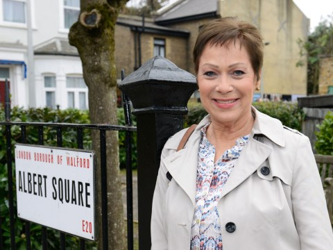 Denise Welch says she's been treated like a 'competition winner' since landing a guest role in EastEnders