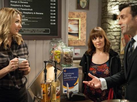 Emmerdale spoilers: What the!? Rhona Goskirk is falling for Pierce Harris!