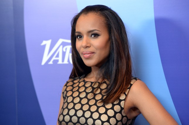 Dance star: Kerry Washington was taught to dance by J Lo (Picture: Jason Merritt/Getty Images for Variety)