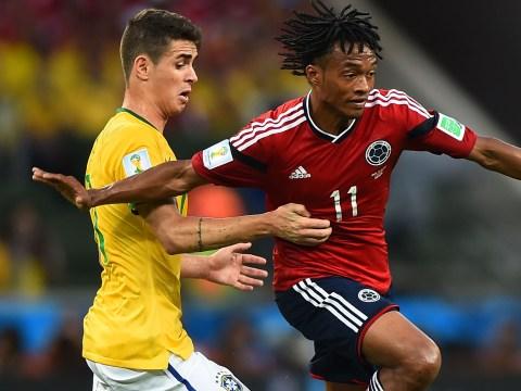 Rumour: Juventus turn to Oscar transfer with Juan Cuadrado Chelsea return likely