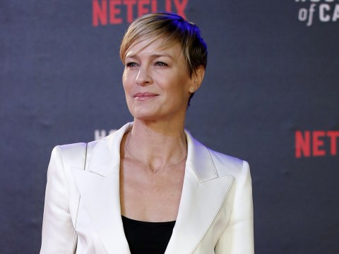 Robin Wright 'threatened Netflix' unless they gave her equal pay for House Of Cards