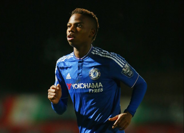 STEVENAGE, ENGLAND - JANUARY 11: Charly Musonda of Chelsea in action during the Barclays U21 Premier League match between Tottenham Hotspur U21 and Chelsea U21 at The Lamex Stadium on January 11, 2016 in Stevenage, England. (Photo by Matthew Lewis/Getty Images)