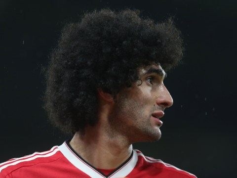 Marouane Fellaini thinks he is being played out of position for Manchester United
