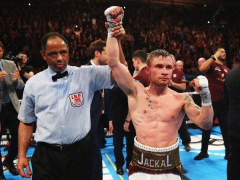 Carl Frampton stripped of WBA title after targeting Leo Santa Cruz and Lee Selby instead of Guillermo Rigondeaux