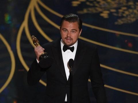 Has Leonardo DiCaprio just shared his first ever selfie?