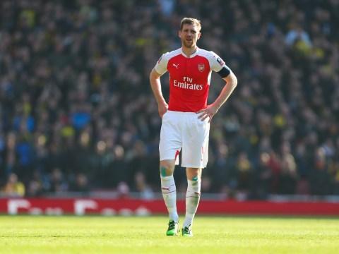 Per Mertesacker believes Arsenal still have a 'good chance' of winning Premier League title
