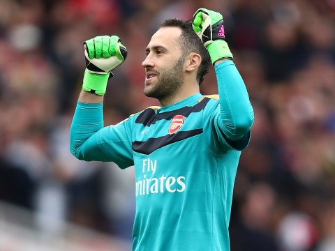 David Ospina starts for Arsenal's Champions League clash with PSG but Olivier Giroud benched