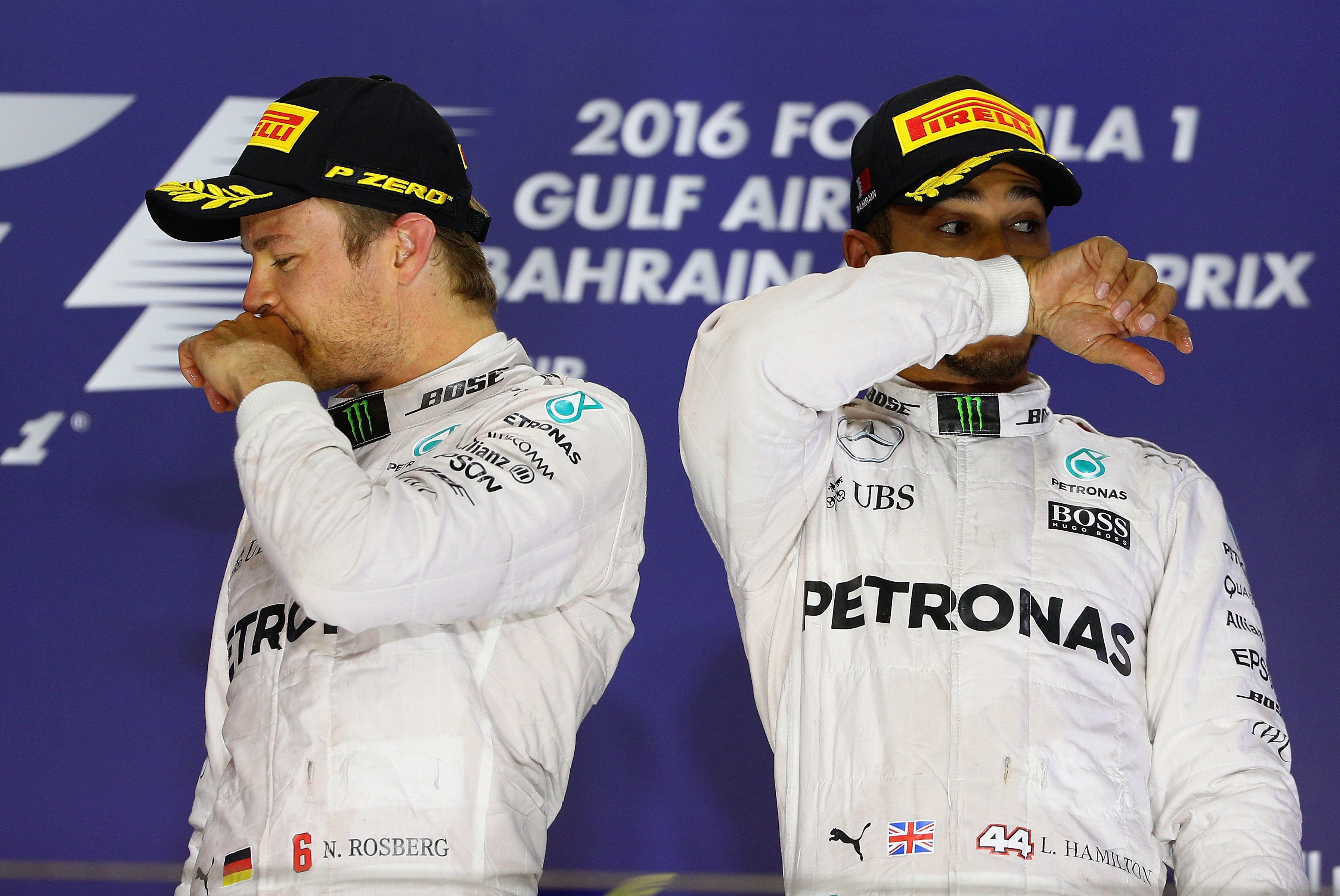 Formula One drivers Lewis Hamilton and Nico Rosberg embroiled in 'ridiculous' spat over restaurant bill
