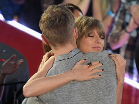 Taylor Swift wins iHeart Radio Awards and pays gushing tribute to boyfriend Adam