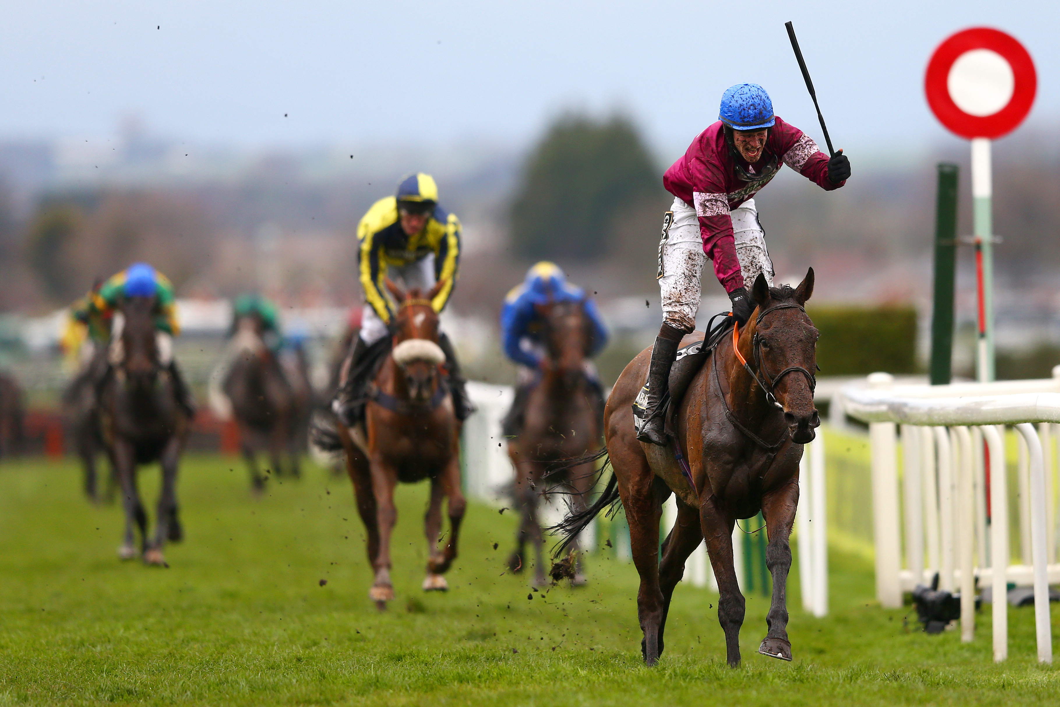 Rule The World wins the Grand National at Aintree ahead of The Last Samuri