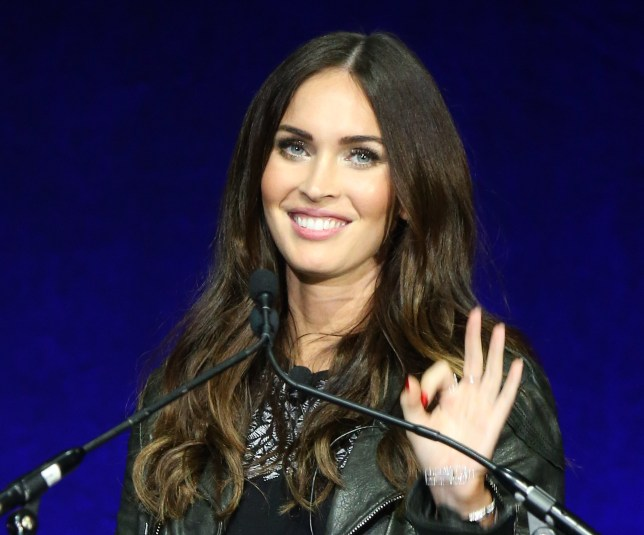 Megan Fox onstage during CinemaCon 2016 - Paramount Pictures opening night presentation held at The Colosseum at Caesars Palace on April 11, 2016 in Las Vegas, Nevada. (Photo by Michael Tran/FilmMagic)