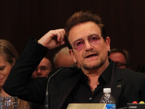 Bono wants Amy Schumer to combat ISIS but Amy doesn't seem like she's up for it