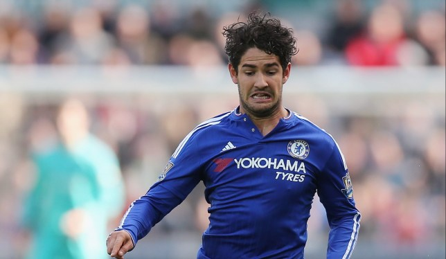SWANSEA, WALES - APRIL 09: Alexandre Pato of Chelsea during the Barclays Premier League match between Swansea City and Chelsea at the Liberty Stadium on April 9, 2016 in Swansea, Wales (Photo by Alex Morton/Getty Images)