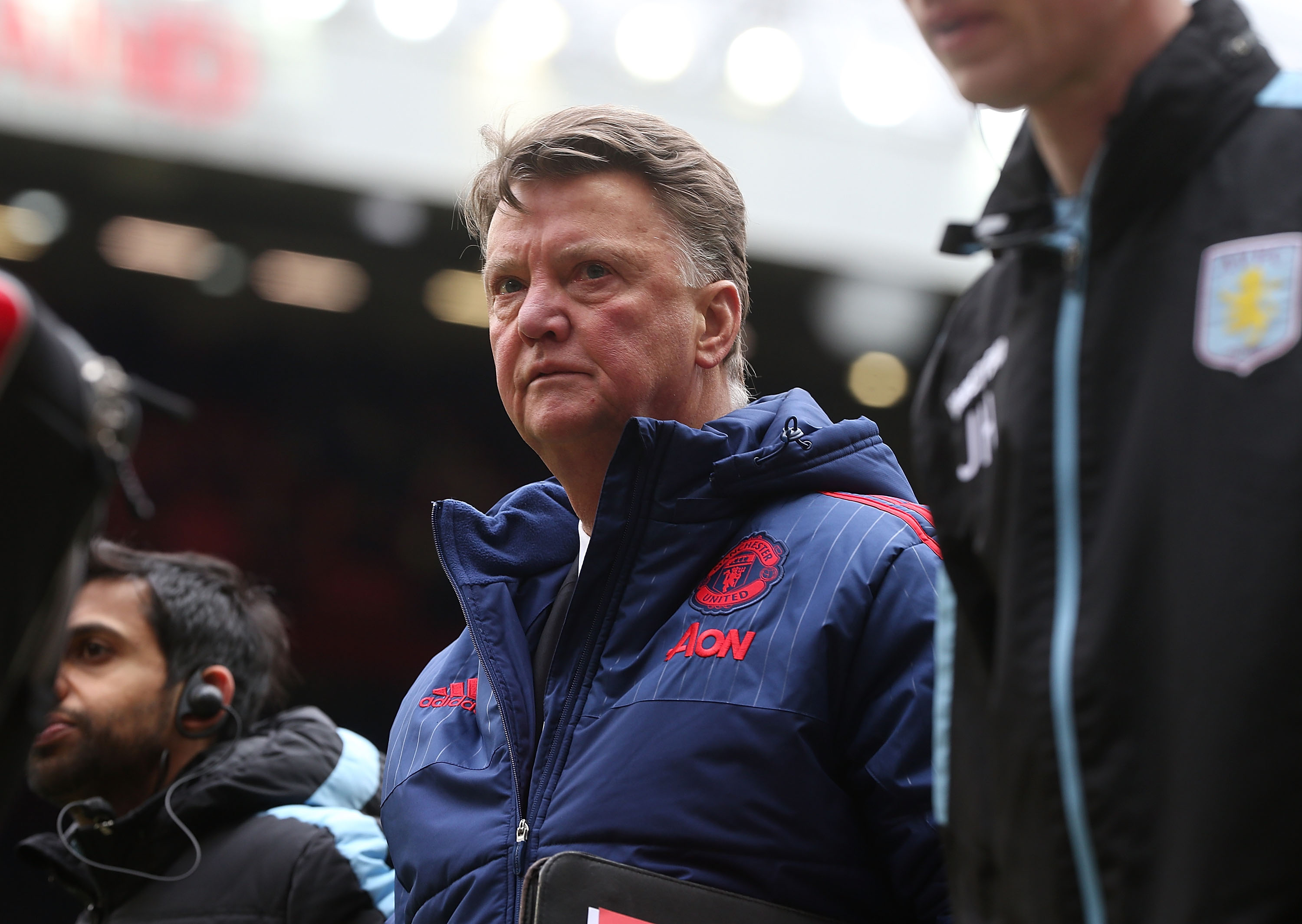 Does this prove Louis van Gaal doesn't know his Manchester United players?