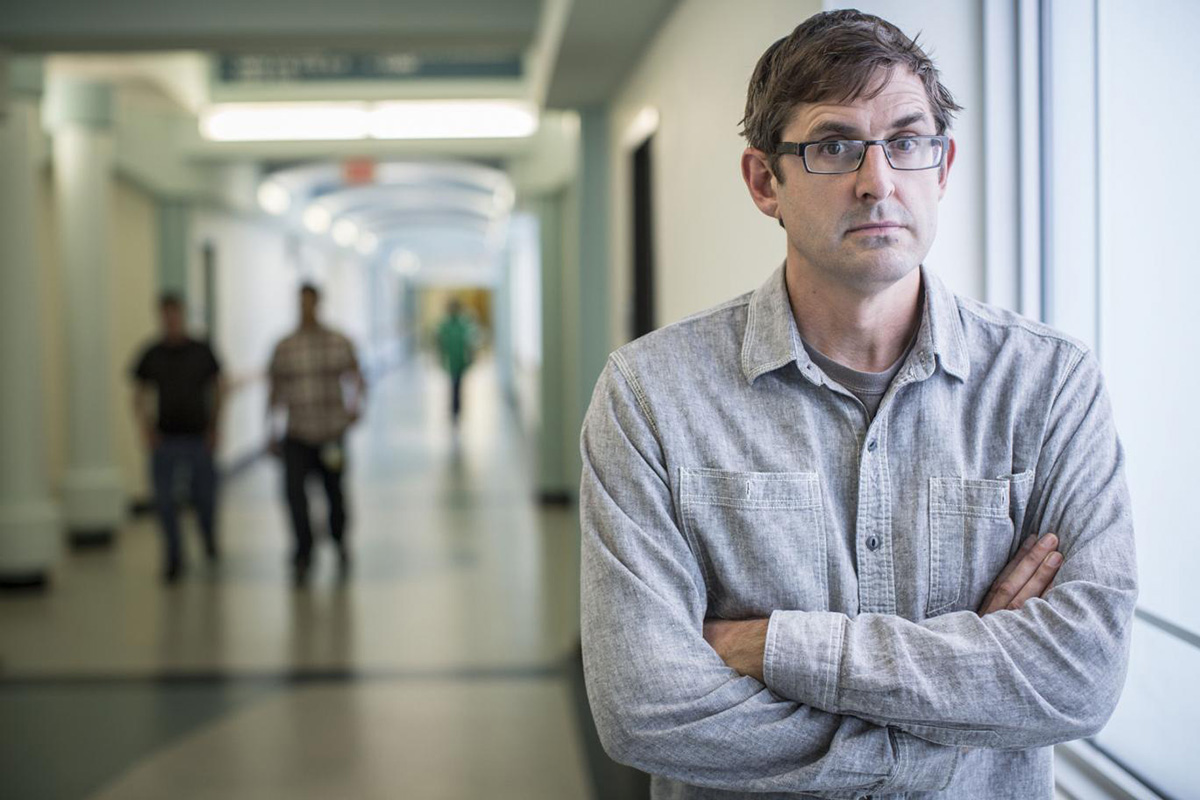 Louis Theroux in heated confrontation with Scientologist in new documentary