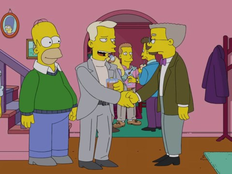 This is what happened when Smithers came out in The Simpsons