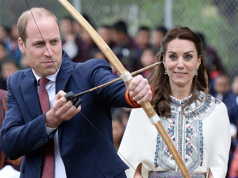 Kate and William get all Hunger Games during trip to Bhutan