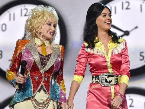 WATCH: Katy Perry and Dolly Parton team up for an awesome medley